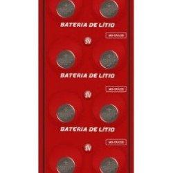 10 Baterias Pilha Cr1220 Bateria Relógio Original MO-CR1220