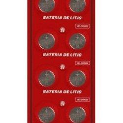 10 Pcs Bateria Moeda Cr1632 3v Pilha Lítio Original Cartela