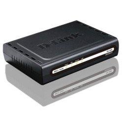 Modem ADSL2  e Roteador D-Link DSL-500B sem fonte (USADO)