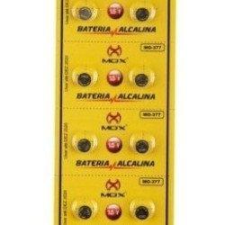 Bateria Ag4 377 626 Alcalina Cartela 10 Unidades Relógio MO-377