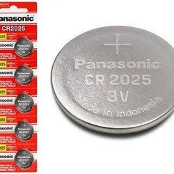 Bateria/Pilha Panasonic Cr2025 Original C/5 Unidades
