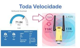 Como conseguir Toda Velocidade Wifi AC1200 Realtek RTL8812AU
