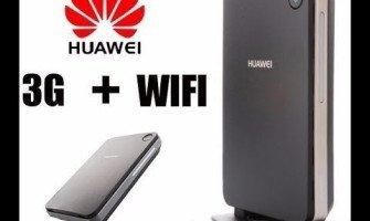 Como Configurar e Desbloquear Huawei B260a B660 B681 Modem WFI Roteador 3G