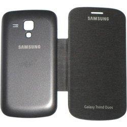 Capinha Flip Cover Samsung Galaxy Trend Duos - Preto