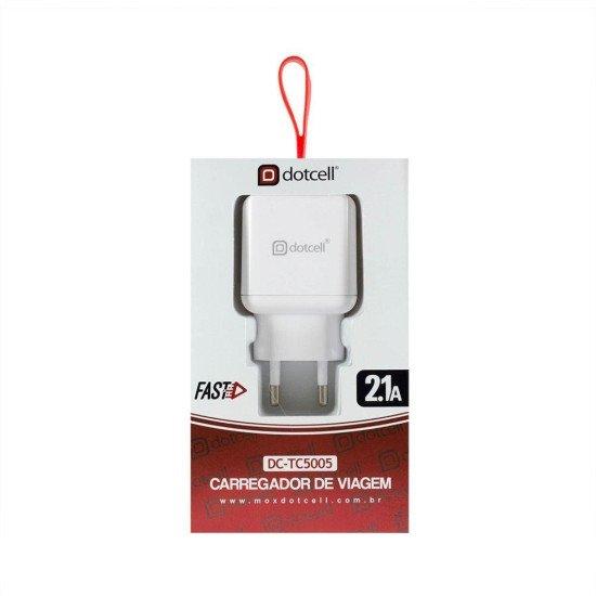 Carregador Celular Original Turbo Fast Quick Charge Qualcomm - Branco