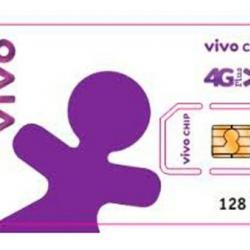 Chip 3g 4g 40GB Vivo Dados Ilimitado Internet Rural Whatapp