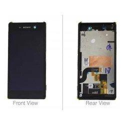 Display Touch Sony Xperia M5 E5653 Original Retirado  - Preto