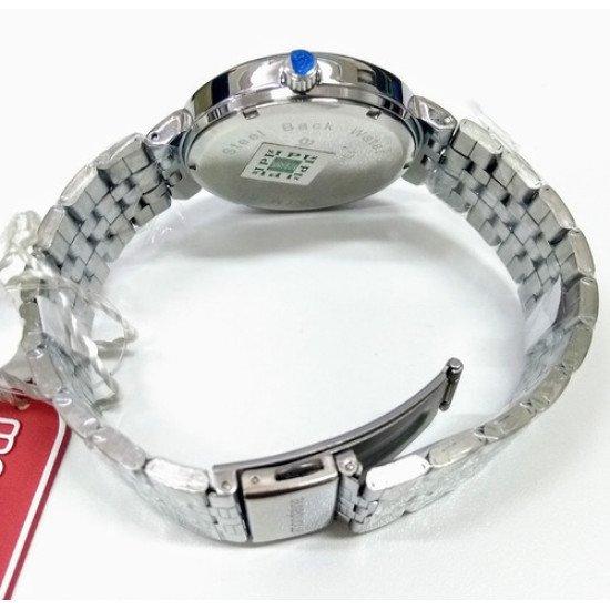 Elegante Relógio Feminino Mondaine 94801l0mvne1 Prata Leia - Prateado