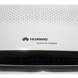 Gpon Terminal Huawei Echo Life Hg865 Original Novo Na Caixa - Branco
