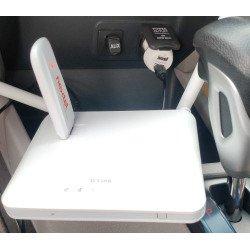 KIT Roteador Wi-fi Modem 4G Kit Veicular Claro Vivo Tim Oi Uber
