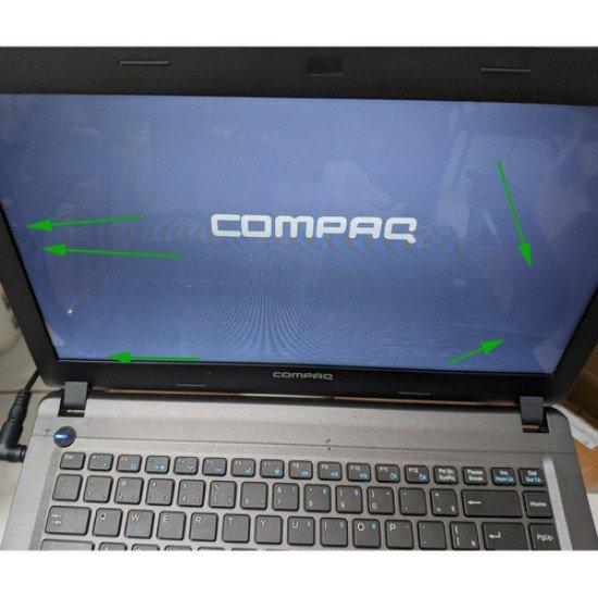 Notebook Compaq Cq23 Dual Core Dvd 4gb 500gb Windows 10 - Recondicionado