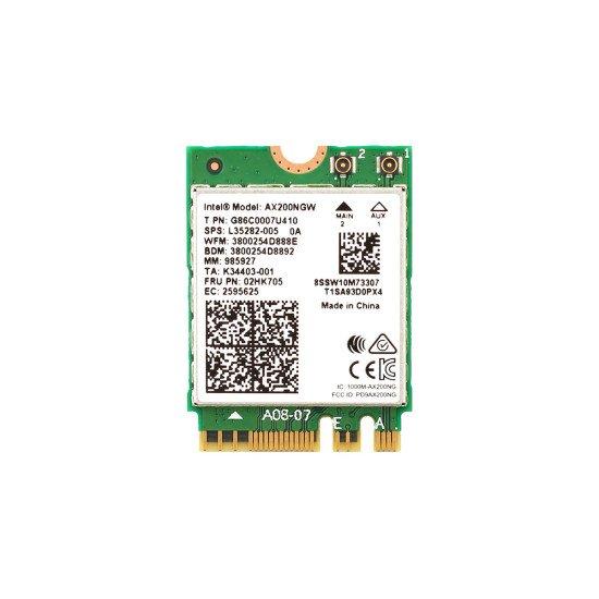 Placa Wi-fi 6 Ax200 2.4gbps Bluetooth 5.0 Ngff Mu-mimo