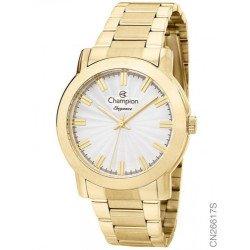 Promoção Relógio Feminino Champion Cn26617h Dourado Vltrine - Dourado