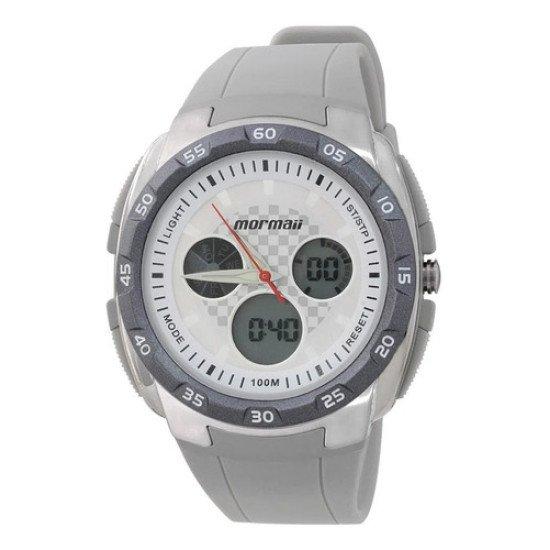 Relógio Analógico Digital Mormaii Action Dm/8b Cinza Alarme - Cinza - Grafite - Branco