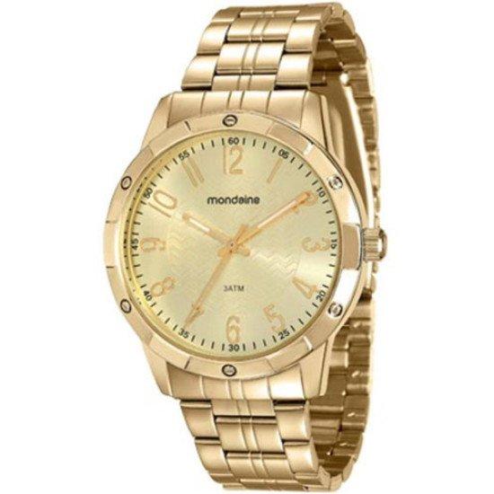 Relógio Feminino Mondaine 94774lpmvde Dourado Barato Vltrine - Dourado