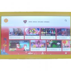 Tablet Dl Kids Wi-fi 8gb Android 7.1.2 Quad-core Youtube Kid USADO - Amarelo