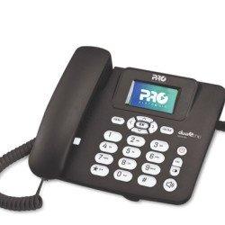 Telefone Fixo Rural Celular De Mesa Dual Chip Desbloqueado PROCD-6020